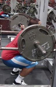 sakar back squat
