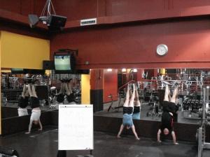 handstand room
