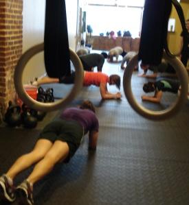 rings group plank