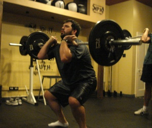 sean front squat